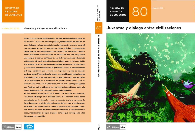 Revista de Estudios de Juventud. Nº 80. Juventud y Diálogo entre ...