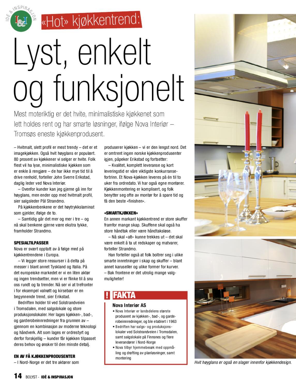 kjøkkenprodusenter i norge