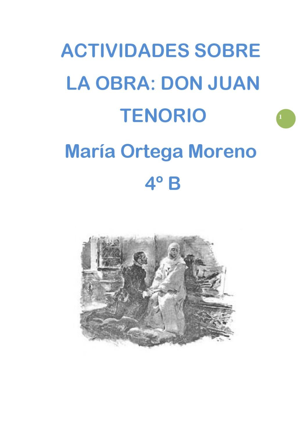 Don Juan Tenorio by Maria moreno - issuu