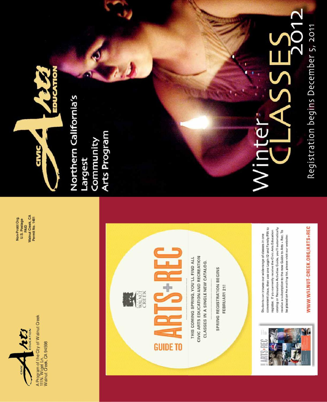 Civic Arts Education Winter 2012 Class Catalog by City of Walnut ...