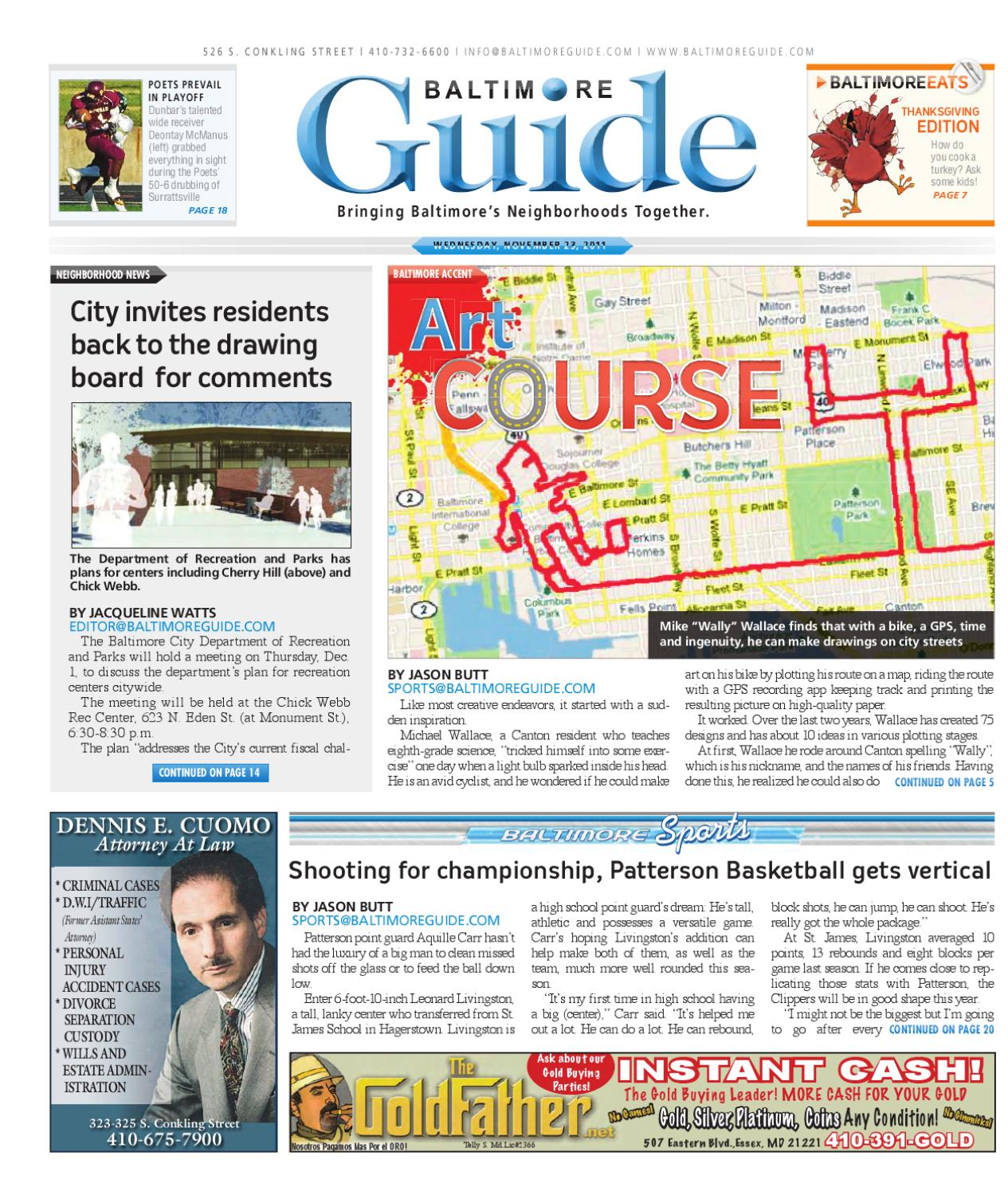 November 23, 2011 - The Baltimore Guide by The Baltimore