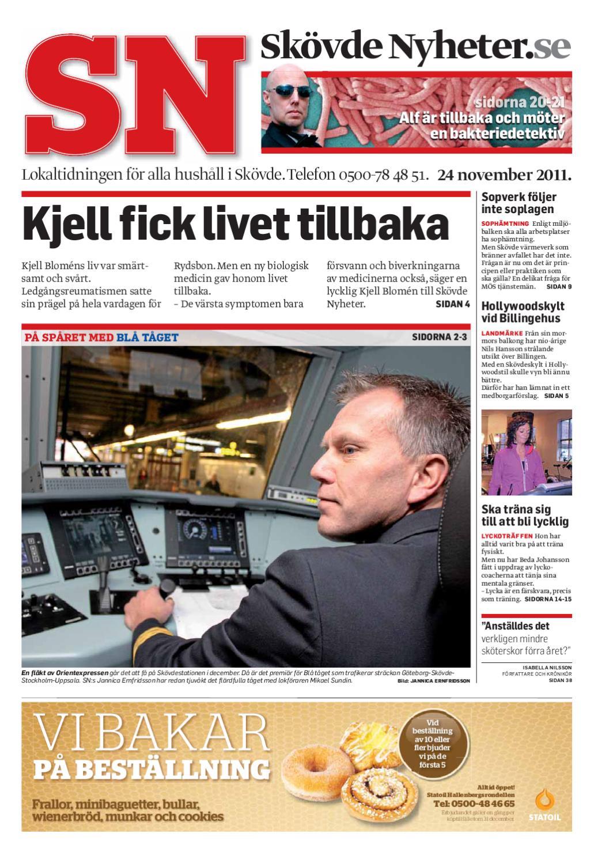Skövde Nyheter 2011-11-24 by Skövde Nyheter - issuu ef54c4562f20b