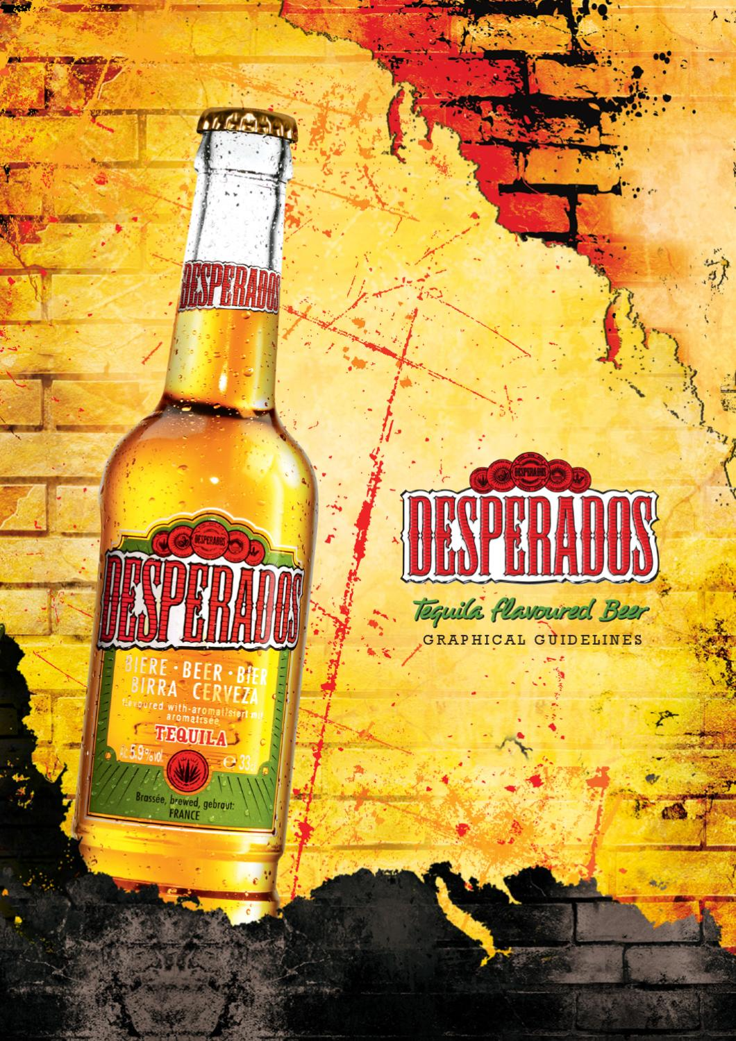Desperados Graphical Guidelines By 6 1 Issuu