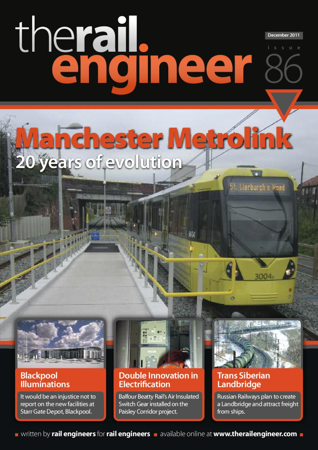 The Rail Engineer Issue 86 December 2011 By Media Issuu Nationals Say Faulty Circuit Breaker Not Taylor Swift Caused Power