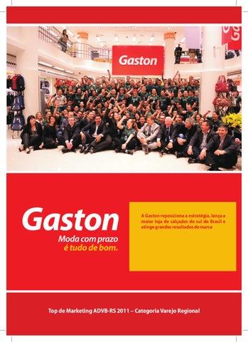 025e8d58e A Gaston reposiciona a estratégia, lança a maior loja de calçados do sul do  Brasil e atinge grandes resultados de marca