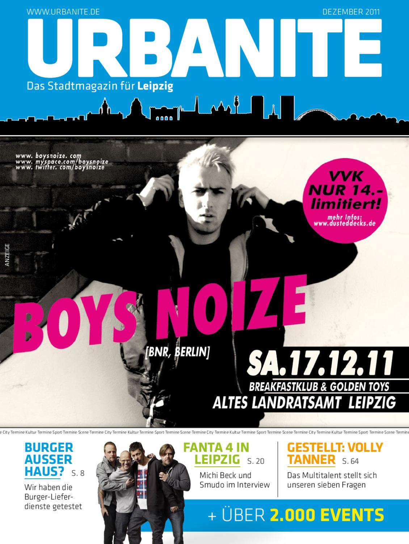 URBANITE - Stadtmagazin Leipzig | Dezember 2011 by urbanite - issuu
