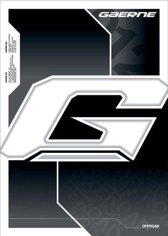 GAERNE SG-10 BUCKLE G-REACT// FASTBACK// GX1 4694-001