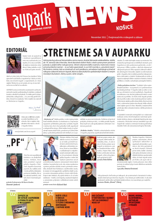 61fc521c98 Aupark News Košice by Petra Juhasova - issuu