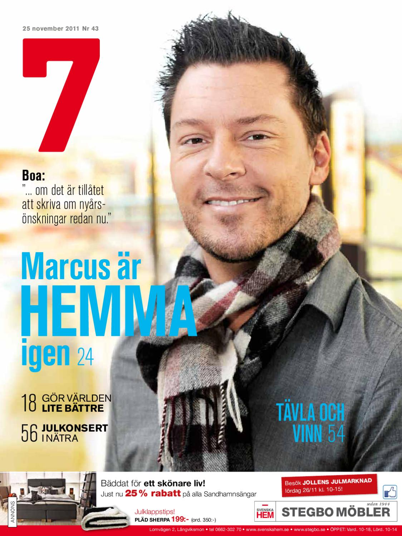 020f637338e Tidningen 7 nr43 2011 by 7an Mediapartner - issuu