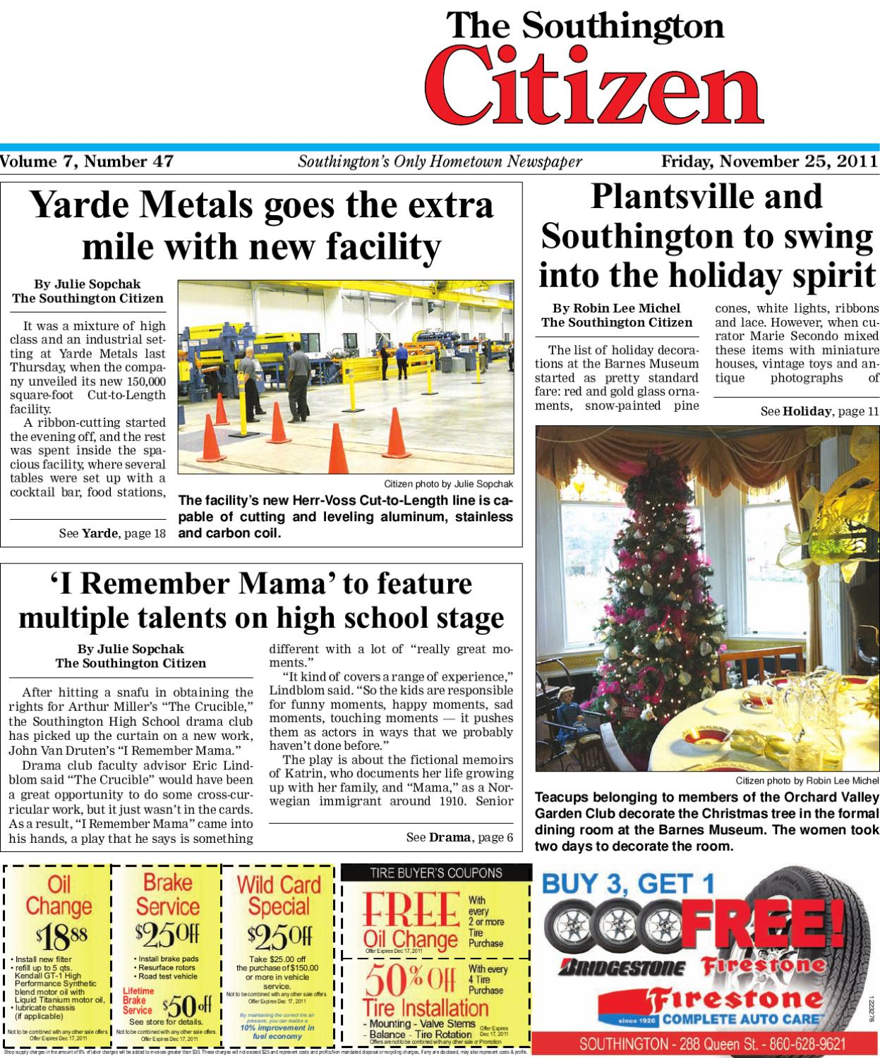 55923e4914b88 11-25-2011 Southington Citizen by Dan Champagne - issuu