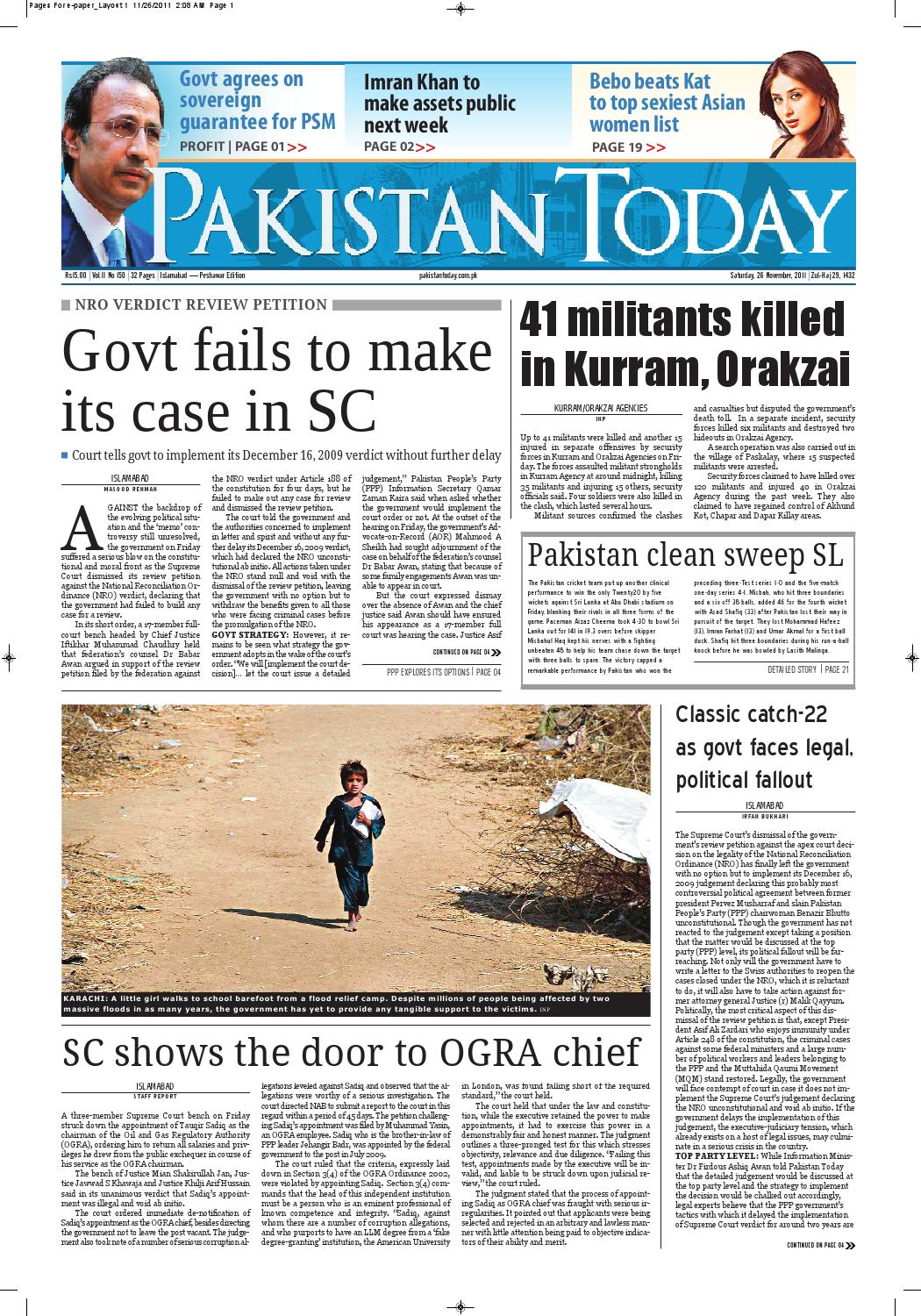 newspaper pakistantoday by Pakistan Today - issuu