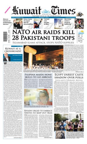 47040ced3be 27 Nov 2011 by Kuwait Times - issuu