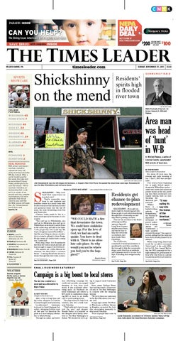 Times Leader 11 27 2011 By The Wilkes Barre Publishing Company Issuu