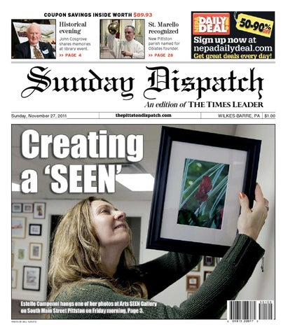 The Pittston Dispatch 11-27-2011 by The Wilkes-Barre Publishing ... 4d05ea76e