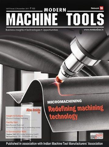 Modern Machine Tools - November 2011 by Infomedia18 - issuu