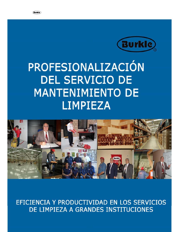 Manuales de limpieza by empresa burkle issuu for Empresas de limpieza en castellon