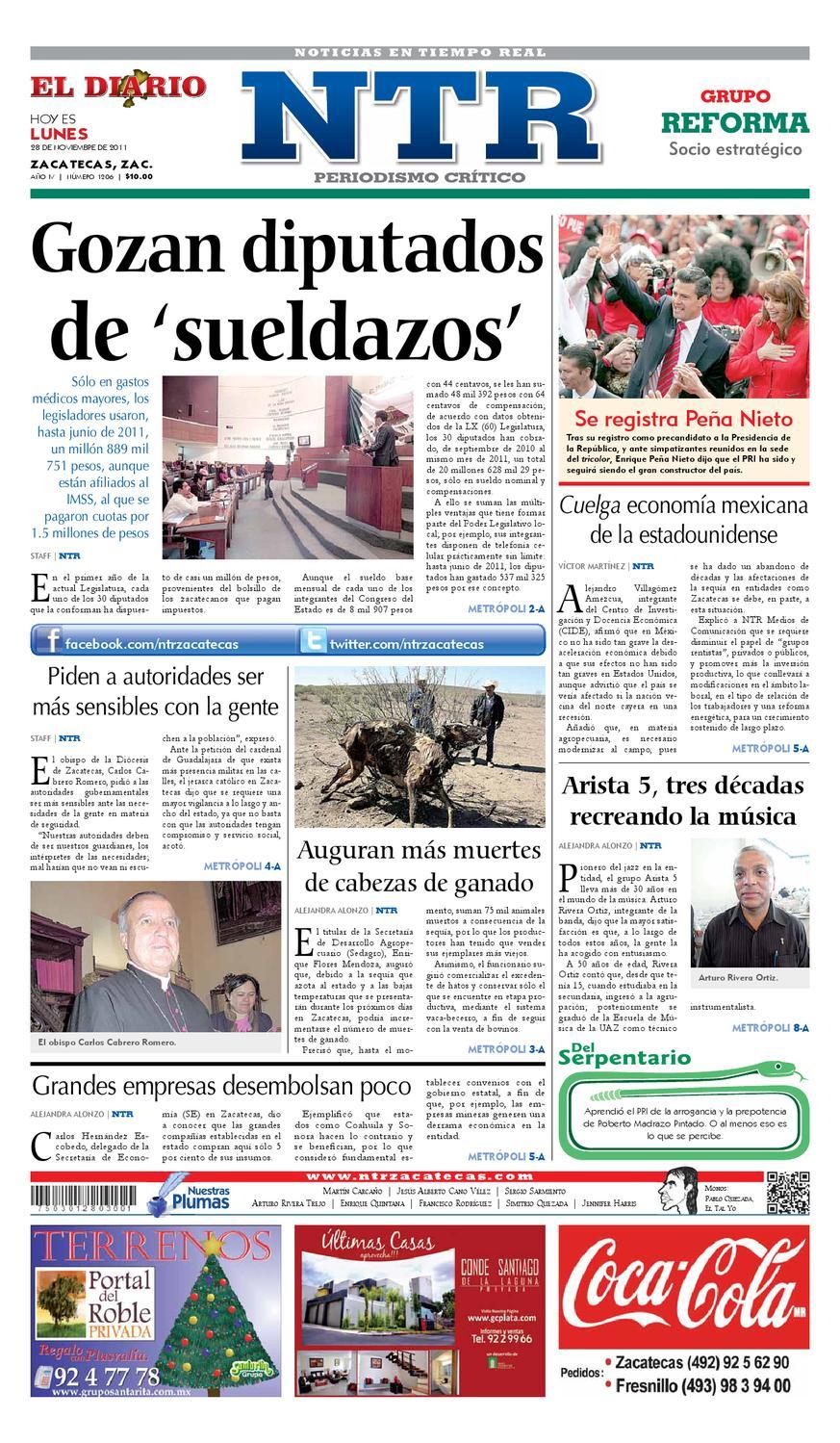 El Diario NTR by NTR Medios de Comunicación - issuu d21008f0ab7