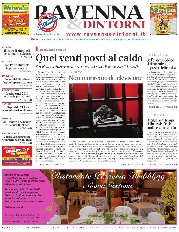 Ravenna   Dintorni 465 - 24 11 2011 by Reclam Edizioni e Comunicazione -  issuu 92df6c03a76