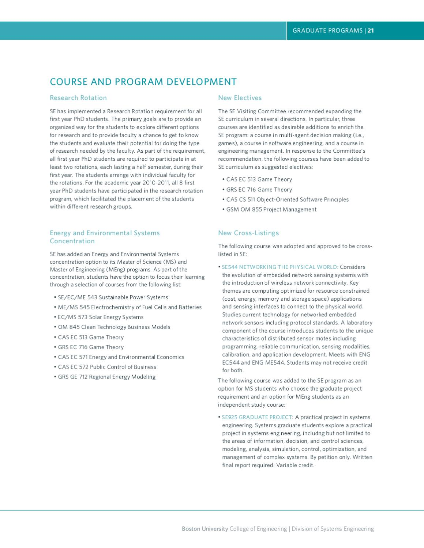 Bu Systems Engineering 2011 Annual Report By Boston University Issuu