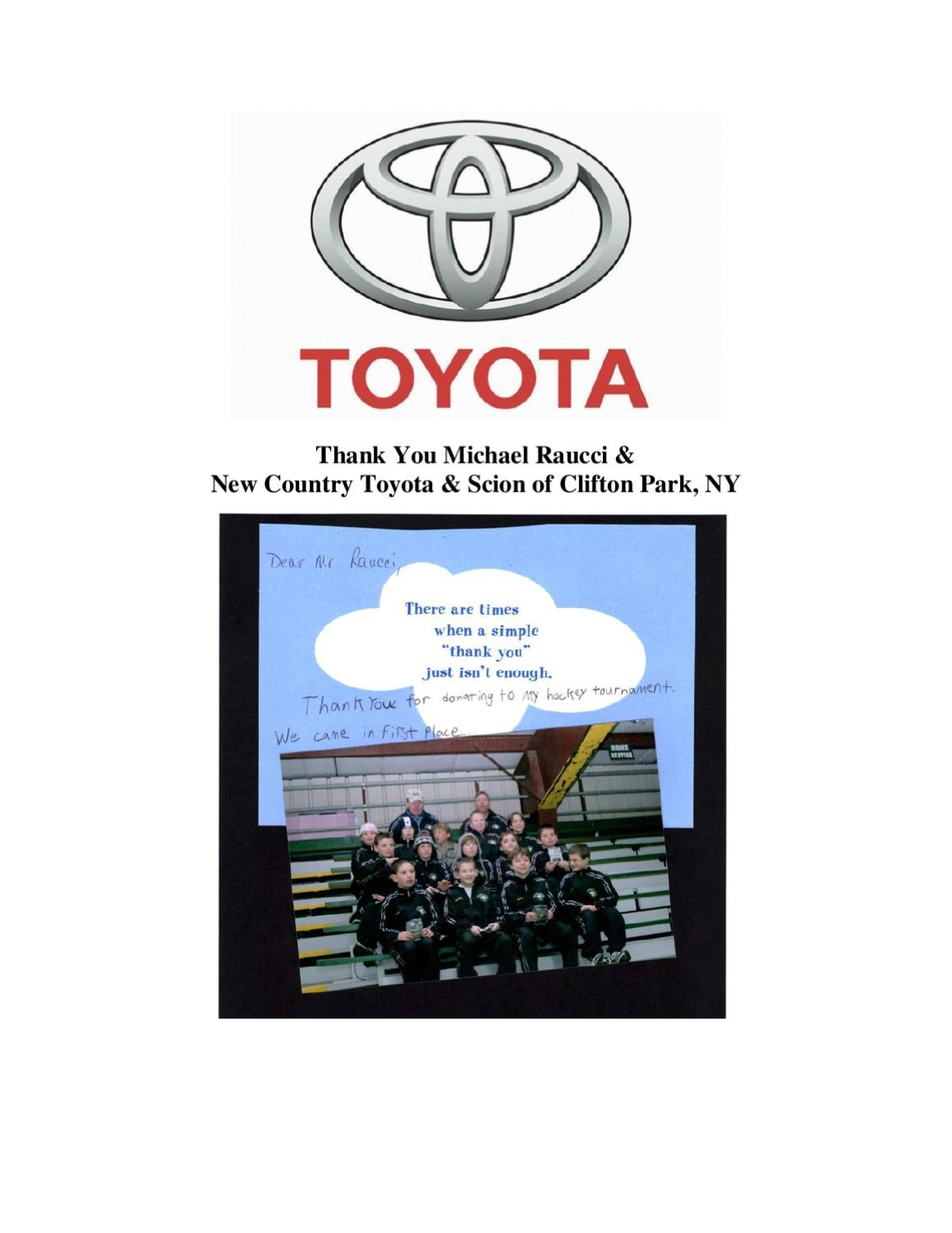 New Country Toyota U0026 Scion Of Clifton Park, NY By New Country Motor Car  Group   Issuu