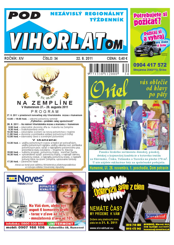 4454e0dd3e PV2011 34 by Pod Vihorlatom - issuu