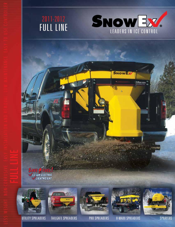 SnowEx Dump Box Salt Spreader Spinner Motor Gearbox SP2200 SP2400 D5723 D5722