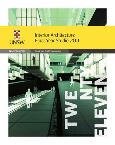 interior architecture final year studio 2011 by tonic connective issuu