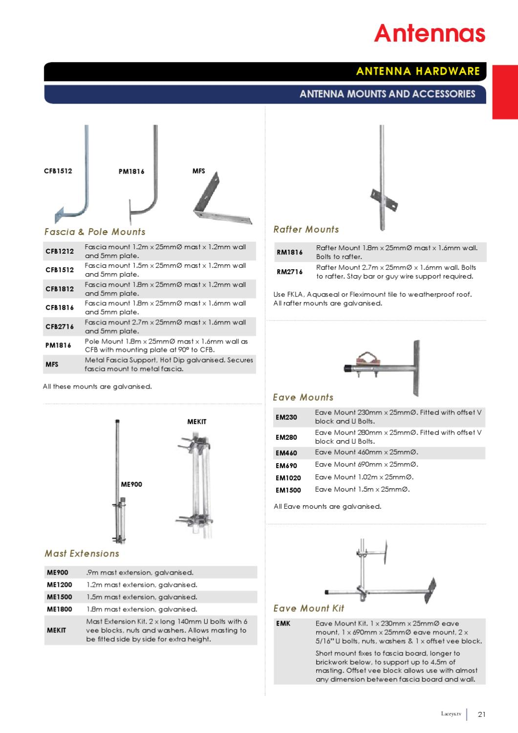 Laceys tv 2011 Catalogue by Leading Edge Electronics