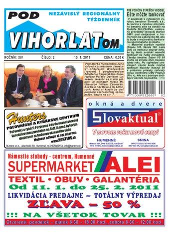 PV2011 02 by Pod Vihorlatom - issuu fa0415af5c5