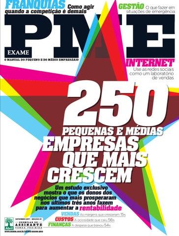 Revista EXAME PME - Edição 41 by Revista EXAME - issuu 5901c95cc985a