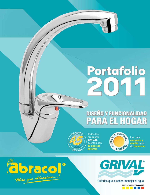 Portafolio 2011 abracol grival by juan carlos gallo issuu for Llave ducha grival