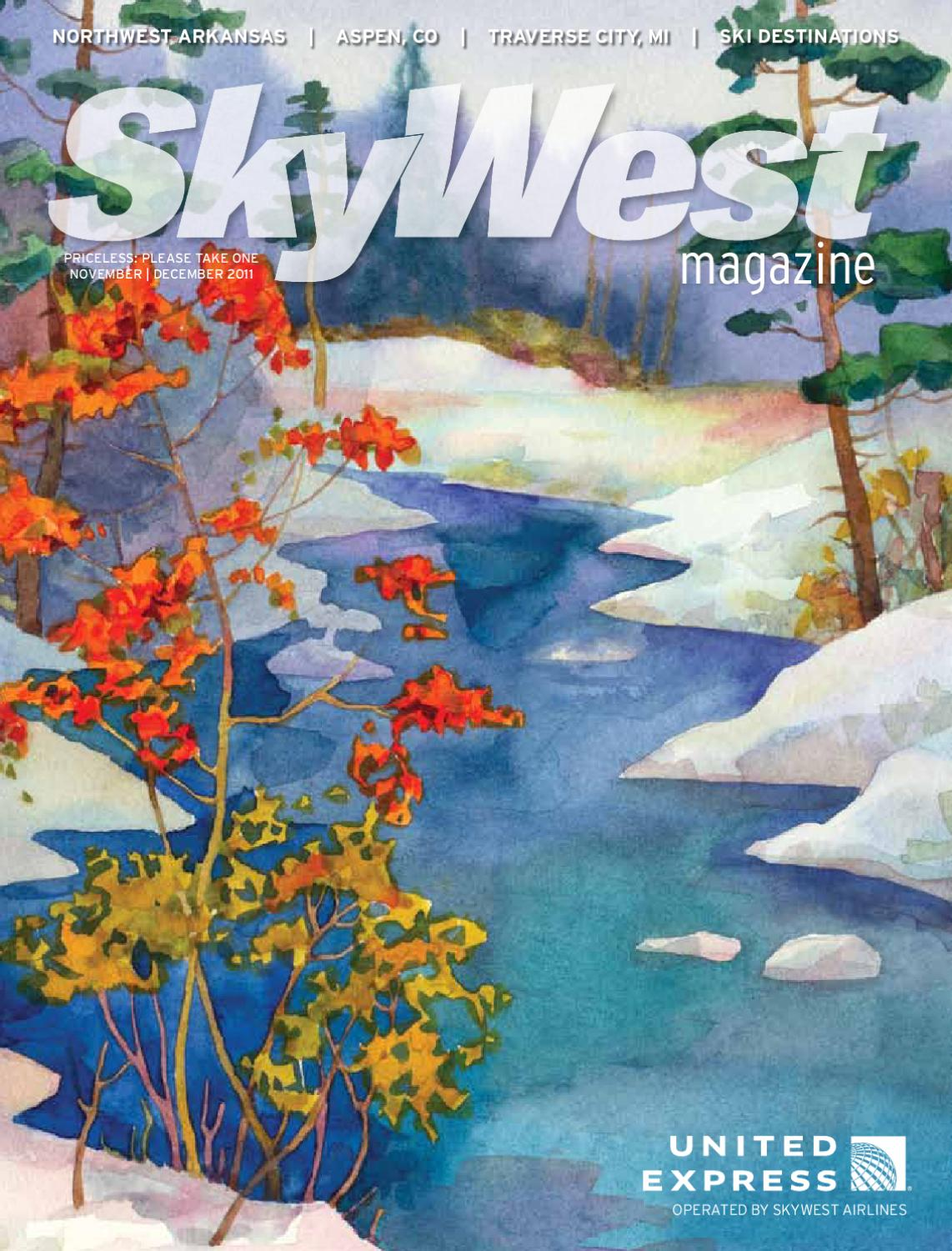 SkyWest Magazine November December 2011 by Janie Budell - issuu