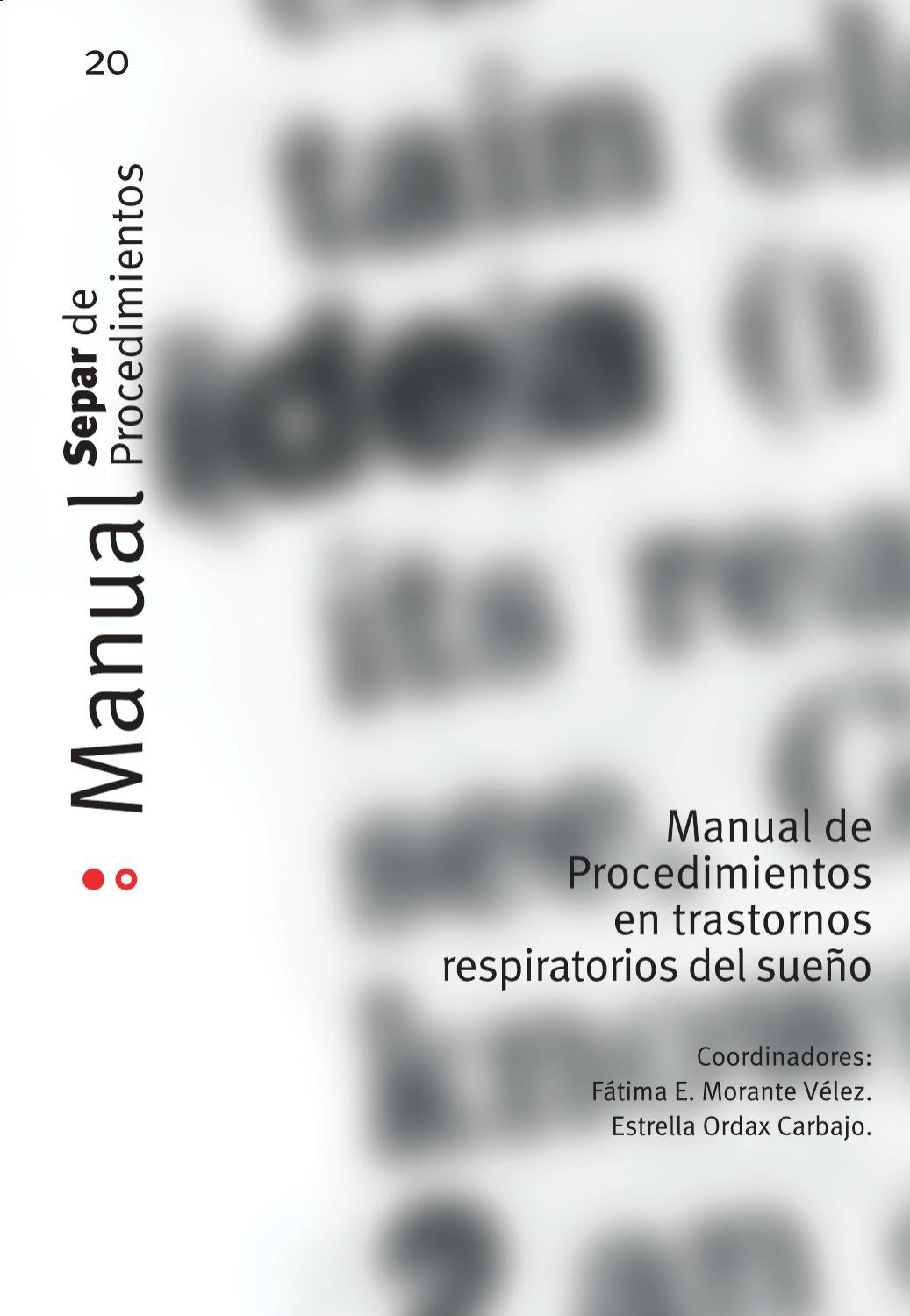 Manual de Procedimientos SEPAR, 20. by SEPAR - issuu
