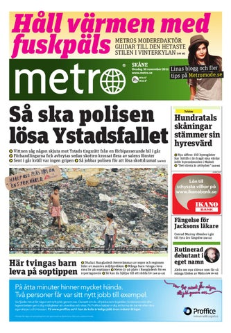 buy popular 27df3 60f09 20111130 se malmo by Metro Sweden - issuu