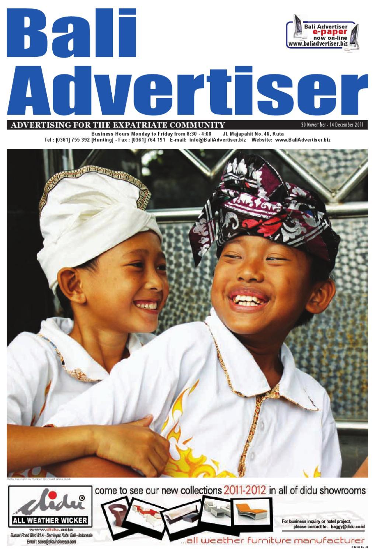 Ba 30 November 2011 By Bali Advertiser Issuu Psn Card Indonesia Idr 225000