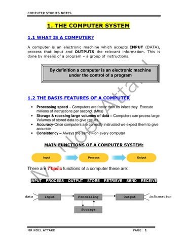 Form 3 Notes Part 1 by Noel Attard - issuu