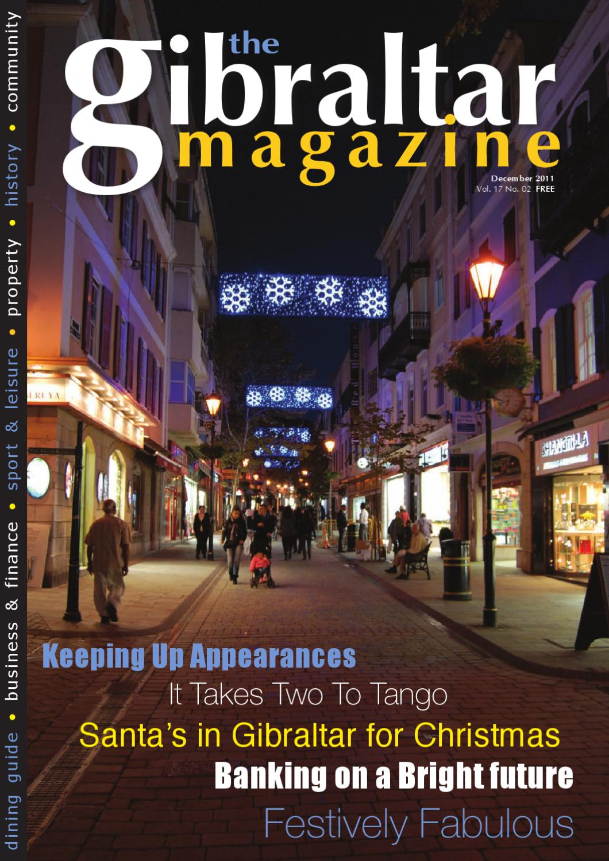 0845683de8e1 Gibraltar Magazine December by Rock Publishing Ltd - issuu