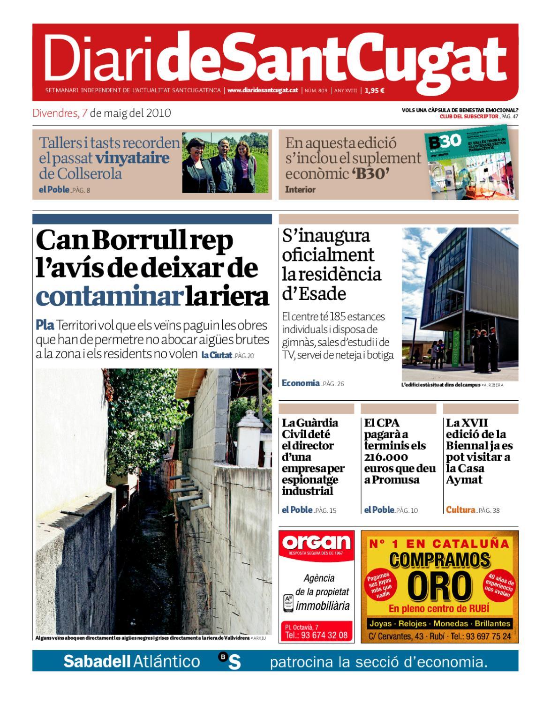 Diari de Sant Cugat 809 by Premsa Local Sant Cugat - issuu 747de209ee9