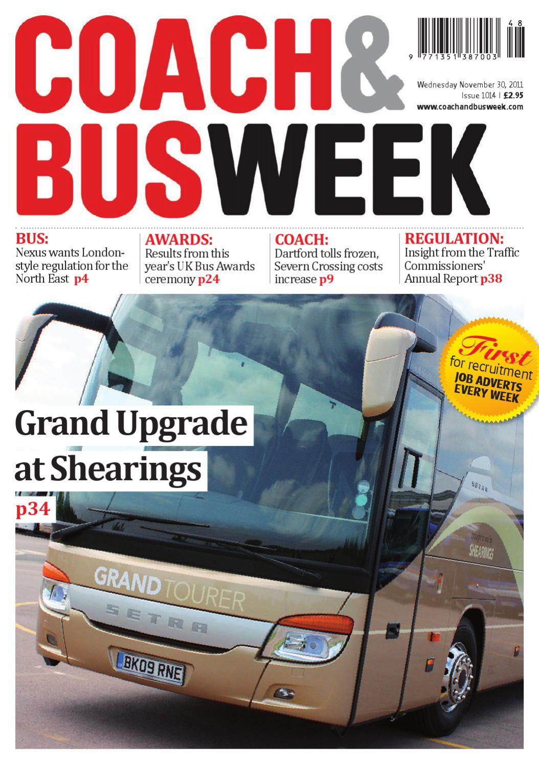 Coach & Bus Week : Issue 1014 by Coach and Bus Week & Group