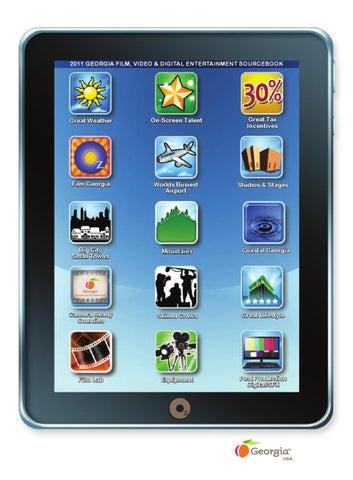 2011 Georgia Film, Video & Digital Entertainment Sourcebook by Oz