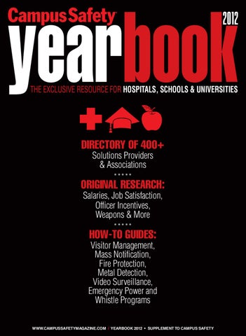 Campus Safety Magazine Yearbook 2012 by Bobit Business Media