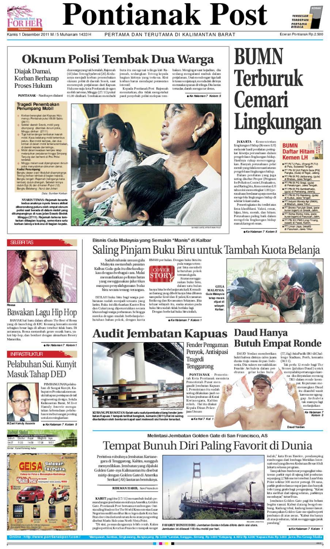Pontianak Post By Issuu Produk Ukm Bumn Bahan Songket Sulam Katun Merah