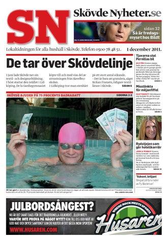Skövde Nyheter 20111201 by Skövde Nyheter - issuu 7b52651863084