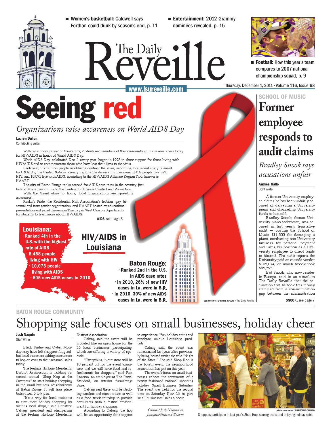 The daily reveille dec 1 2011 by the daily reveille issuu fandeluxe Images