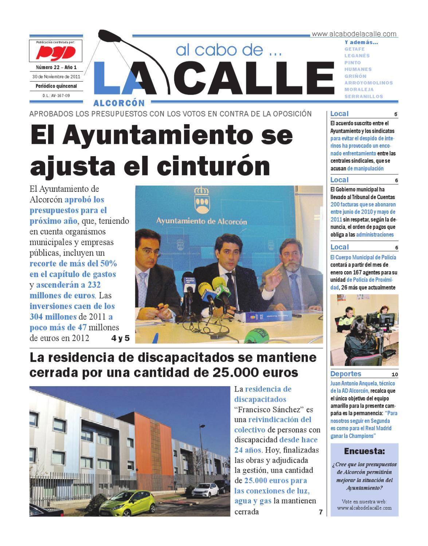 Al Cabo De La Calle Nº22 Alcorcon By Al Cabo De La Calle Issuu