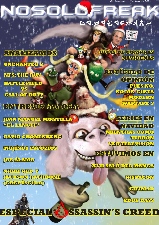 Revista digital Nosolofreak diciembre 2011 by Daniel Ferrer León ...