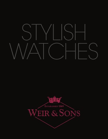 c9f07fd9ecd Weirs Watch Catalogue 2011 by Network Book Publishing - issuu