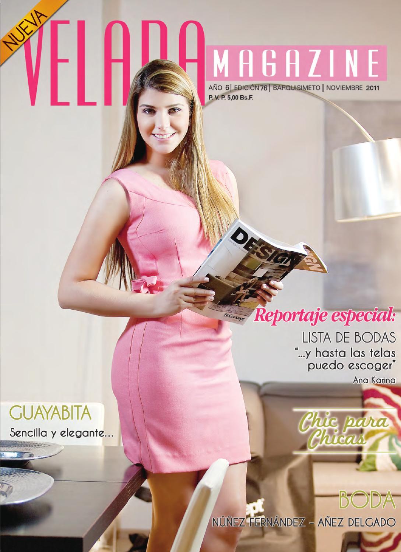 Velada Magazine - Noviembre 2011 by Velada Velada - issuu