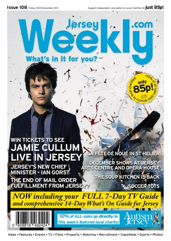 Jersey Weekly Issue 108 By Agent Design Issuu