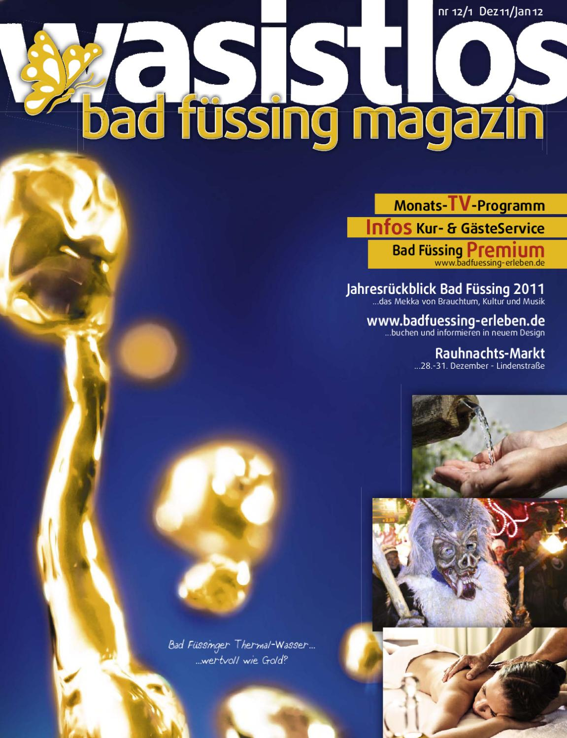 wasistlos bad füssing magazin 12/11-01/12 by REMARK - marketing ...